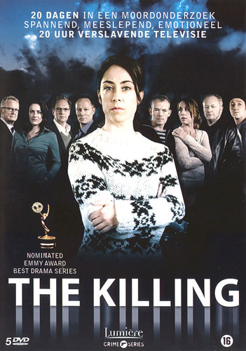 THE KILLING - op DVD - Lumièere